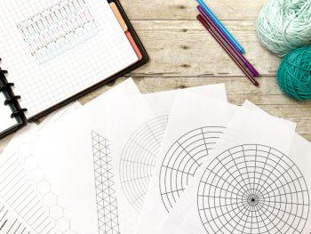 Printable Crochet Project Planner | www.petalstopicots.com