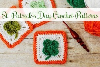 If you are looking for a little St. Patrick's Day adornment, you've come to the right place ... try one of these free Saint Patrick's Day crochet patterns! From sweet little clovers to pretty rainbow wreaths, you are sure to find a fun pattern St. Patrick's Day pattern to stitch up. #petalstopicots