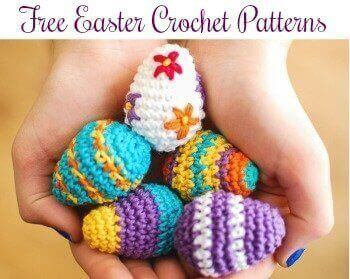 Free Easter Crochet Patterns | www.petalstopicots.com