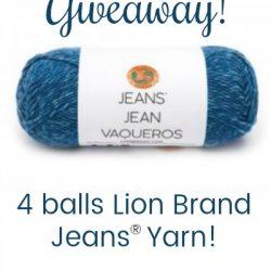 Lion Brand Jeans Yarn Giveaway