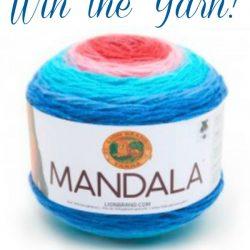 Lion Brand Mandala Yarn giveaway