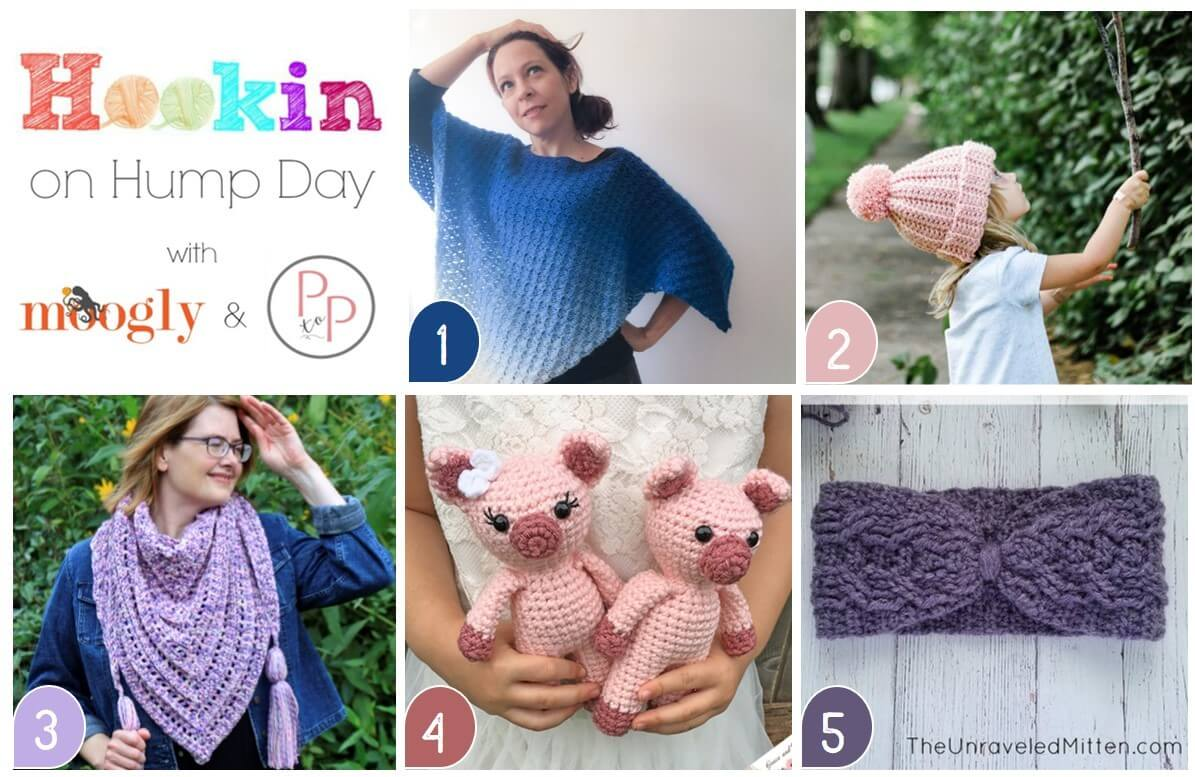 Hookin' on Hump Day - Link Party for Crochet and Knitting
