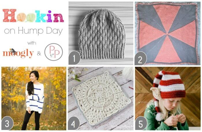 Hookin' on Hump Day 180 - Crochet and Knit Link Party