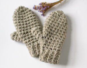Chunky Crochet Mittens Patterns Crochet Pattern