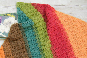 Corner to Corner Crochet Baby Blanket / C2C Crochet