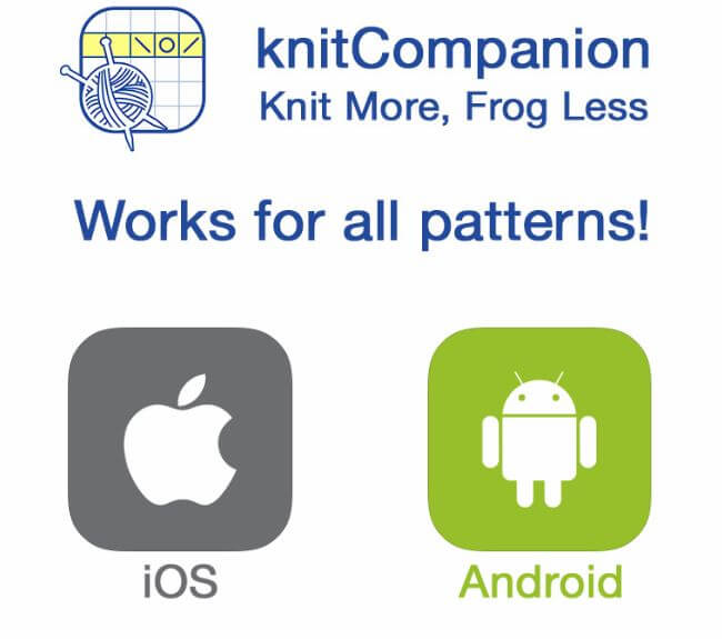 KnitCompanion: Crochet & Knitting Apps