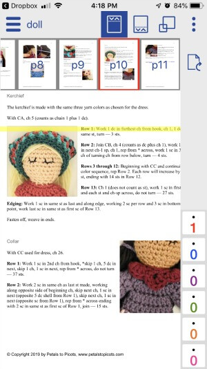 free crochet app