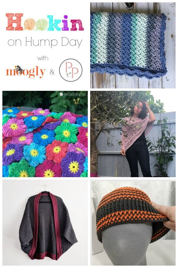 Come join us for another awesome round of Hookin\' on Hump Day!  So many great projects!