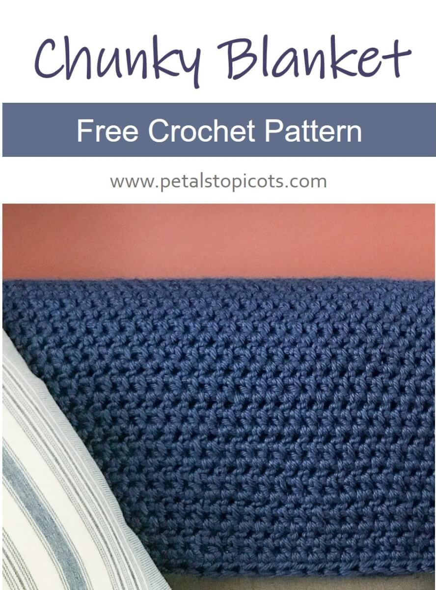Chunky Crochet Blanket Pattern: The Epitome of Comfort