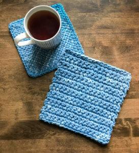 Easy Crochet Hot Pad Pattern