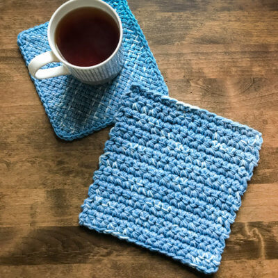 Easy Crochet Hot Pad Pattern