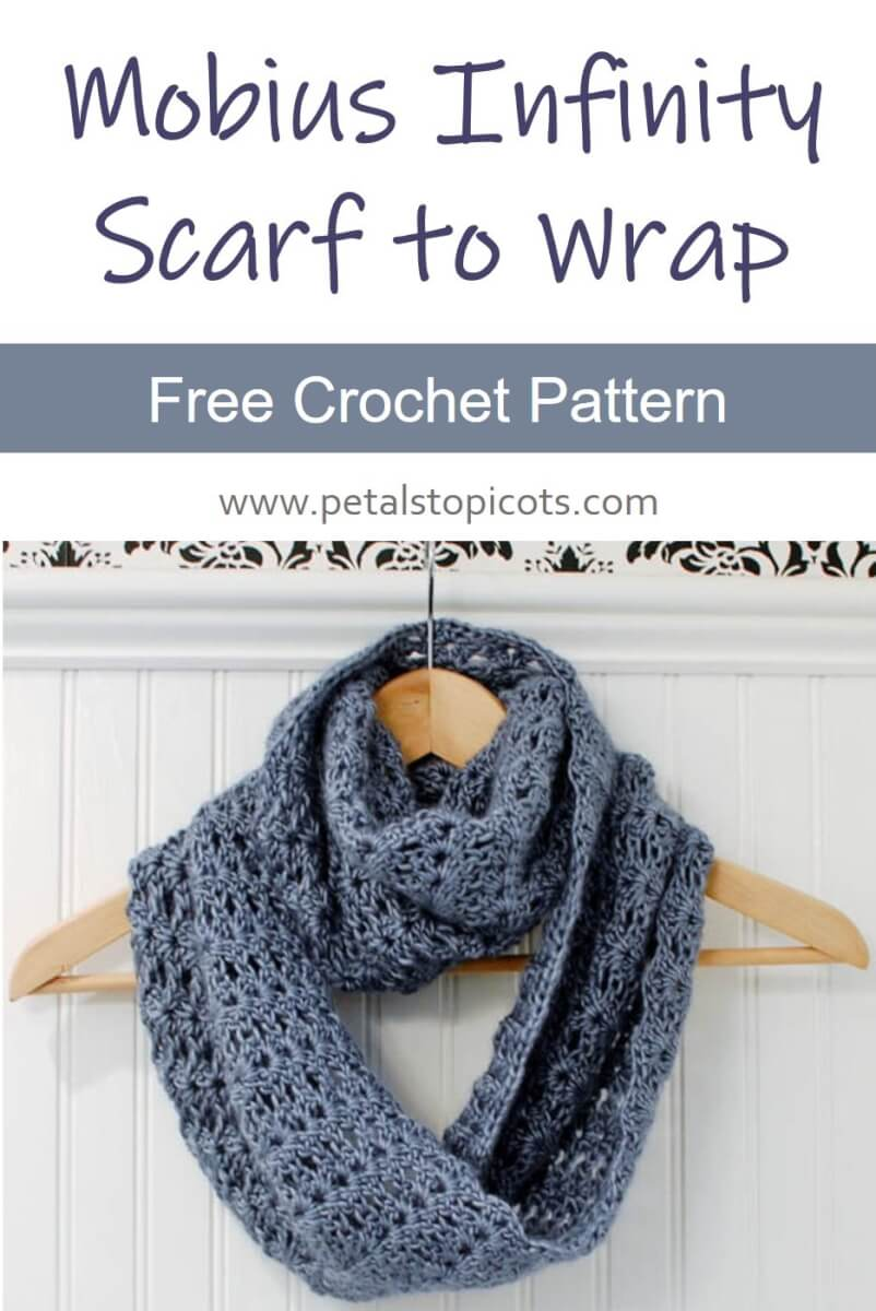 Infinity Scarf Crochet Pattern / Mobius Scarf